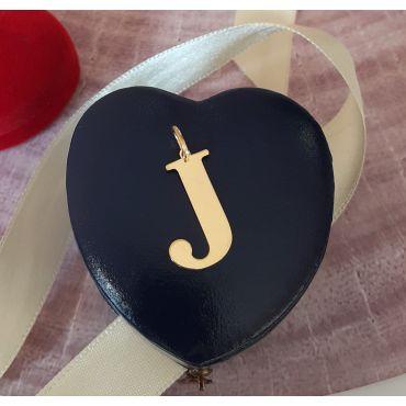 Złota literka j