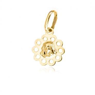 Medalik Matka Boska złoto próba 585
