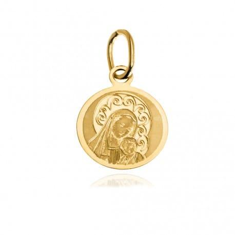 Medalik złoty 585