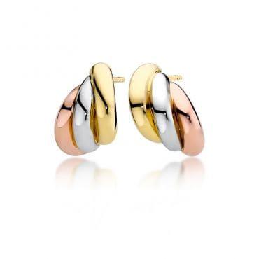Wyjątkowe kolczyki złoto pr 585