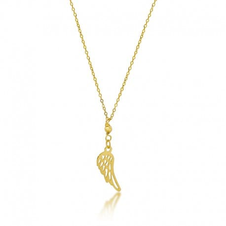 naszyjnik złoty skrzydło