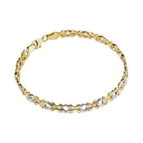 Oryginalna złota bransoletka pr.585