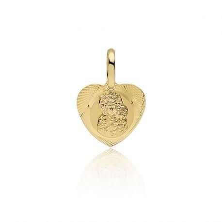 Medalik złoty częstochowska 585