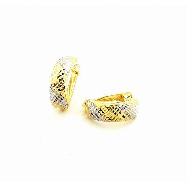 Złote kolczyki pr. 585