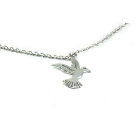 Bransoletka srebrna - koliber