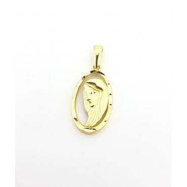 Medalik Matka Boska złoto pr 585