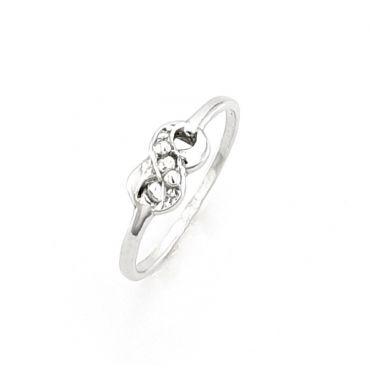 Srebrny pierścionek ZNAK NIESKOŃCZONOŚCI