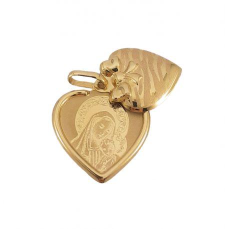 Medalik Matka Boska złoto 585