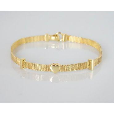 Bransoletka złota pr 585 -NOWOŚĆ